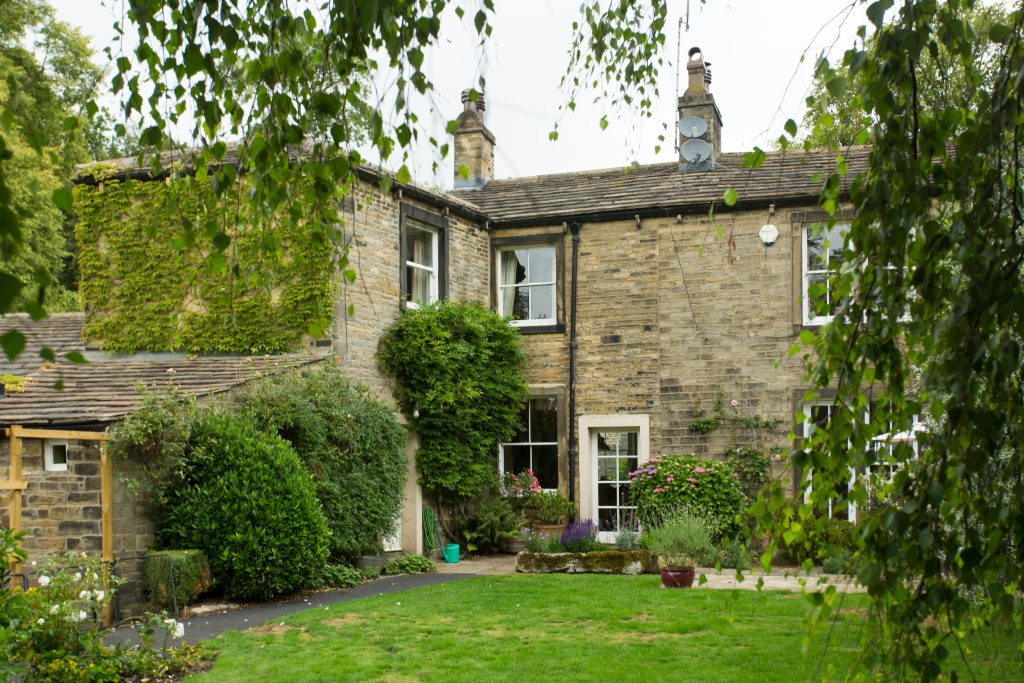 The Bailey Bed and Breakfast in Skipton Mark Webb View from the garden