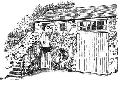The Bailey Holiday Cottage Illustration